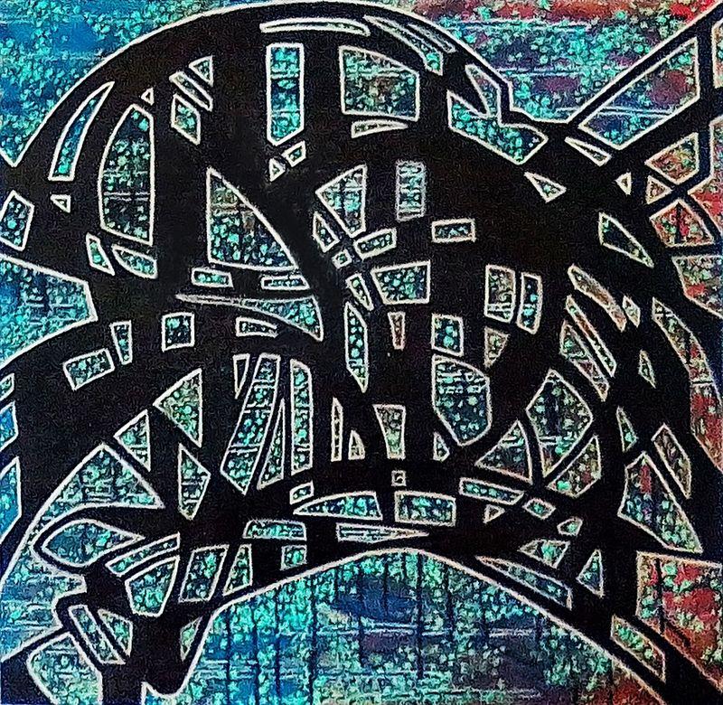 Mounya KECHA - Pintura - DyLaKS    (Cat N° 6019)