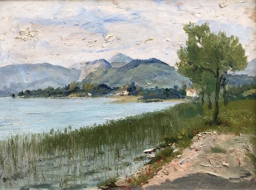 Costanzo Waldemaro FIGLINESI - Peinture - Paysage