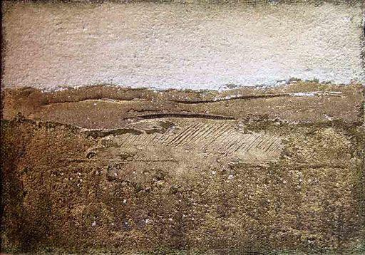 Antonio MINEZZI - Gemälde - Paesaggio della Val d'Orcia