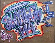 STAYHIGH 149 - Peinture - Ex-Vandals Violet