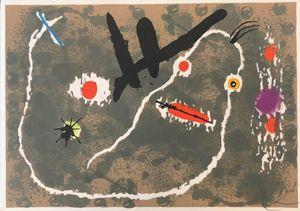 Joan MIRO - Print-Multiple - Le Lézard aux plumes d'or 1