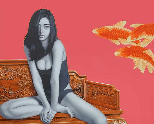 许德奇 - 版画 -  China Girl