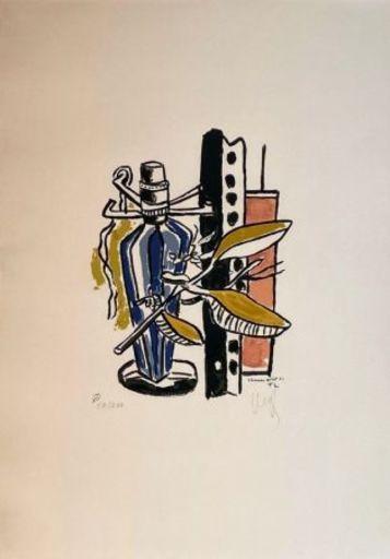 Fernand LÉGER - Print-Multiple - Album de 10 sérigraphies