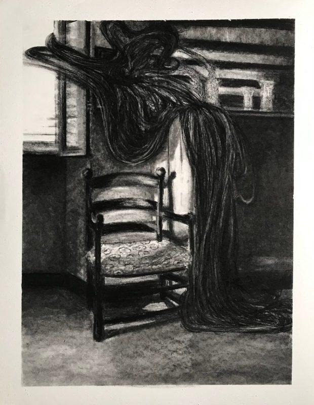 Marie DONNEVE - Dessin-Aquarelle - « Out of frame »