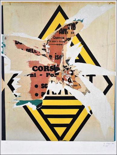 Raymond HAINS - Print-Multiple - Renault 1964