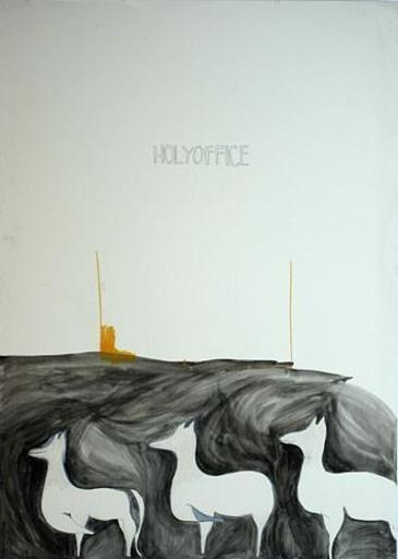 Ivana IVKOVIC - Disegno Acquarello - Holy office