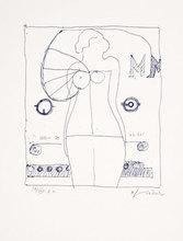 Richard LINDNER - Stampa Multiplo - Marilyn was here 9