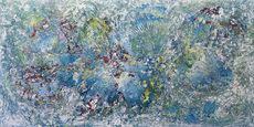 Nicolae Andrei ENE - Painting - Next to Near (ref. 09-18)