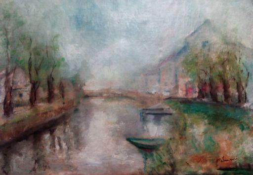 José PALMEIRO - Pintura - El canal