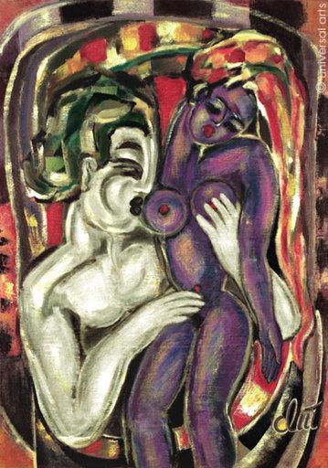 Jacqueline DITT - Peinture - Die Lust (The Lust)