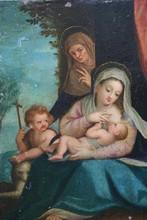 Hans I ROTTENHAMMER - Painting - Vierge allaitante