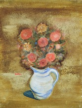 Jankel ADLER - Pittura - Flower Still Life