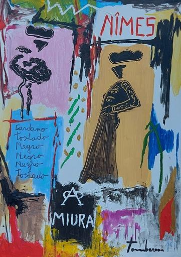 Michel TOMBEREAU - Pittura - FERIA NIMES