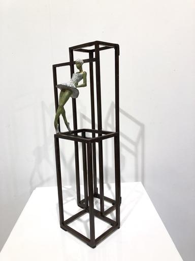 Joan ARTIGAS PLANAS - Sculpture-Volume - Small white swan