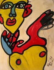 Peter Robert KEIL - Painting - Jongleur