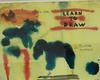 John LURIE - Drawing-Watercolor - 4 DIFFERENT TITLES