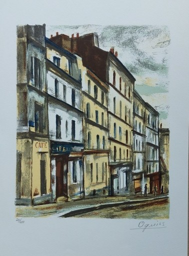 Takanori OGUISS - Stampa-Multiplo - Rue Vilain PARIS XX