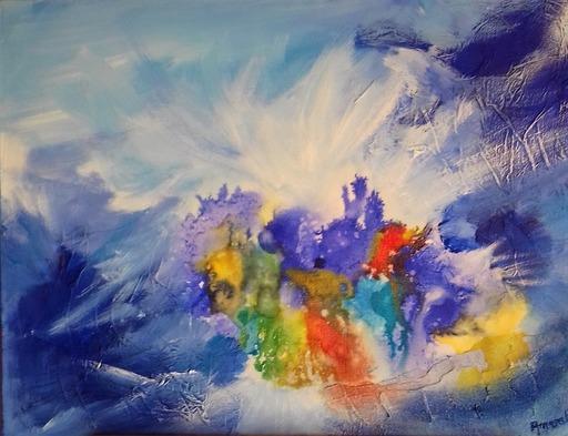 ANVAL - Painting - sans titre
