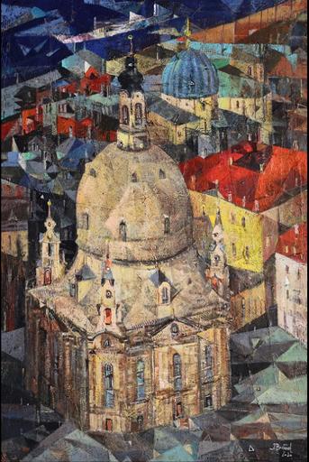 Iris BAND - Painting - Frauenkirche in Dresden