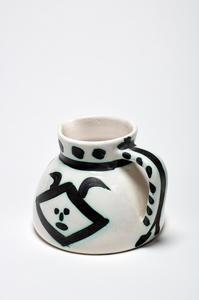 Pablo PICASSO - Ceramic - Pichet têtes