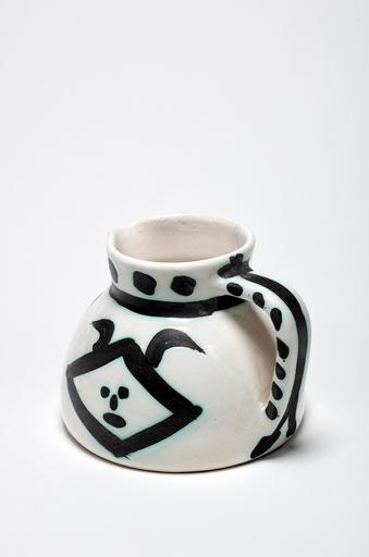 巴勃罗•毕加索 - 陶瓷  - Pichet têtes
