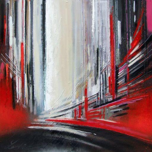 Leslie BERTHET LAVAL - Painting - Cité Urbaine XVI