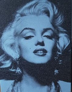 Russell YOUNG - Pittura - Marilyn