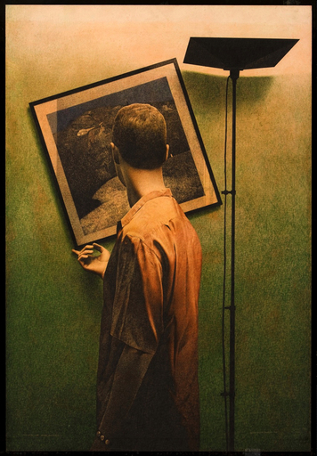 Roberto GONZÁLEZ FERNÁNDEZ - Painting - Verificas con mano melancólica