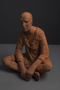 Hanneke BEAUMONT - Sculpture-Volume - Untitled cast iron #113