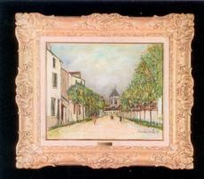 Maurice UTRILLO - Pintura - Saint Loup sur Semouse
