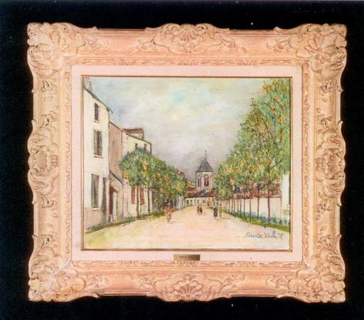 Maurice UTRILLO - Painting - Saint Loup sur Semouse