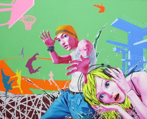 XIONG Lijun - Pintura - Passion summer