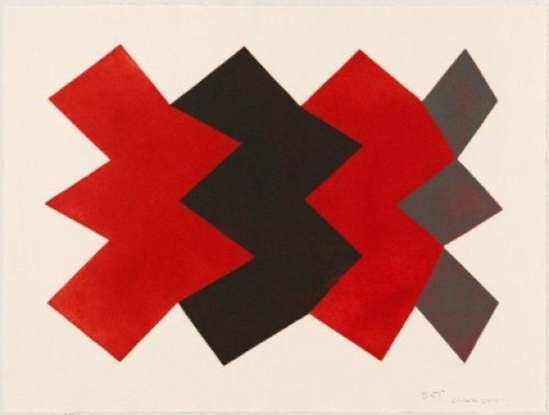 Joaquim CHANCHO - Grabado - Serie Montserrat 8