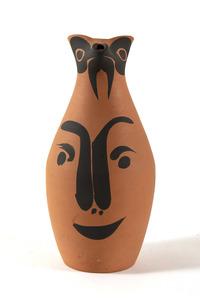 Pablo PICASSO - Sculpture-Volume - Yan visage