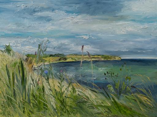 Ute MEYER - Painting - Moelledamsvej/ Ærø / DK