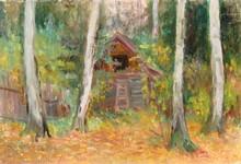 Alexandra Ivanovna YAKUSHEVA - Painting - Partisan Cabin