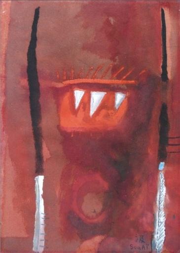 Kumi SUGAI - Disegno Acquarello - Diable rouge