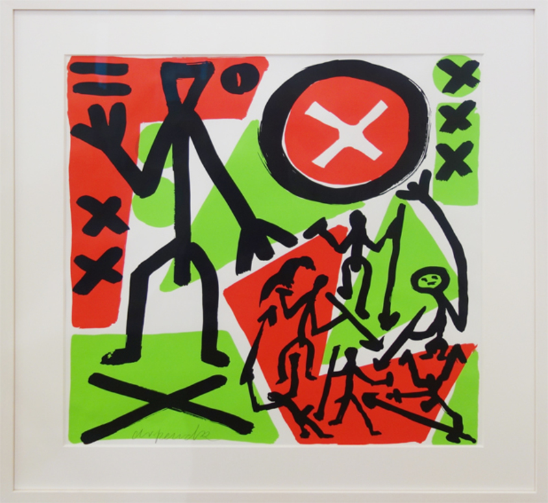 A.R. PENCK - Estampe-Multiple - So viel Anfang war nie/ There's never been so much beginning