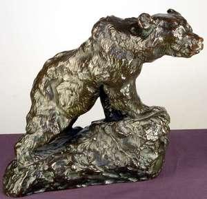 Karl ILLAVA - Skulptur Volumen - American Bear