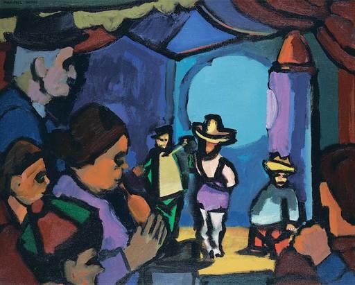 Maxwell Bennett BATES - Pintura - Side Show
