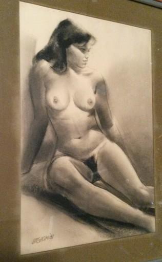 Cesar LEGASPI - Drawing-Watercolor - Nu