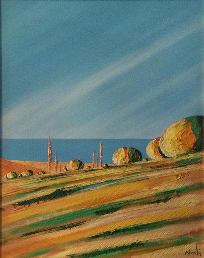 Pier Paolo NUDI - Pintura - Paesaggio introspezionale