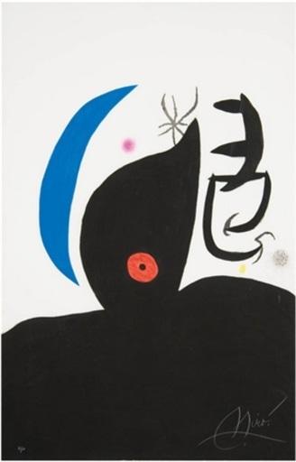 Joan MIRO - Print-Multiple - L'otaire savante