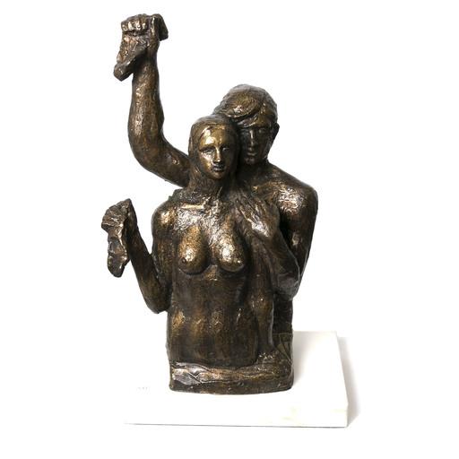 Victor SALMONES - Sculpture-Volume - Despedida