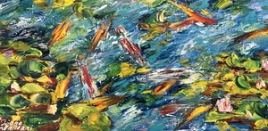 Diana MALIVANI - Pittura - Fish