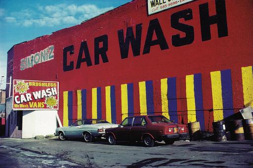 Michael K. YAMAOKA - Fotografia - Car Wash, Brooklyn, NY