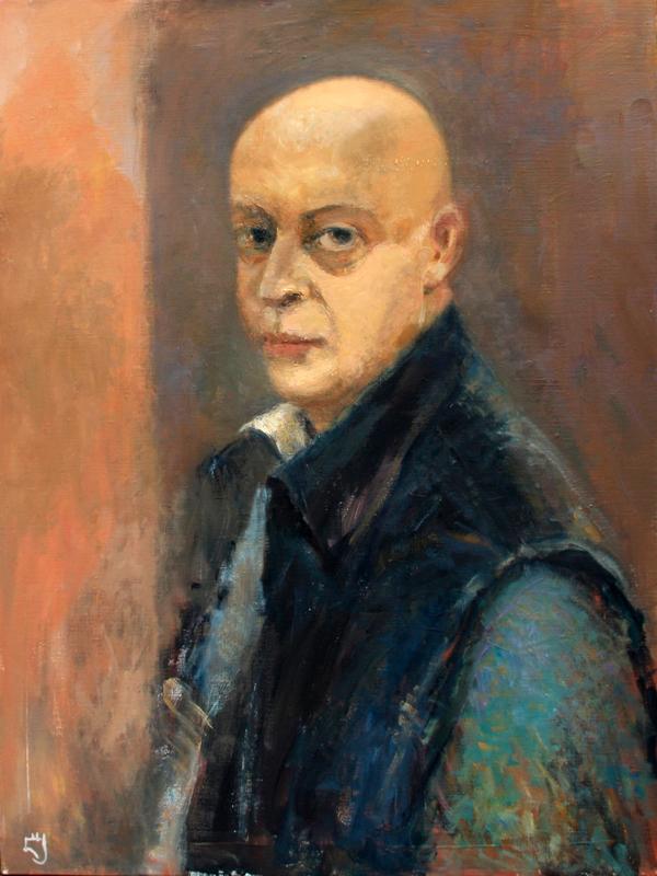 Levan URUSHADZE - Pittura - Self portrait