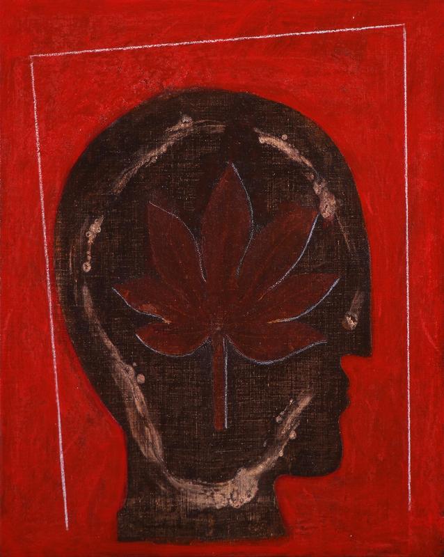 Mimmo PALADINO - Painting - Etrusco 5