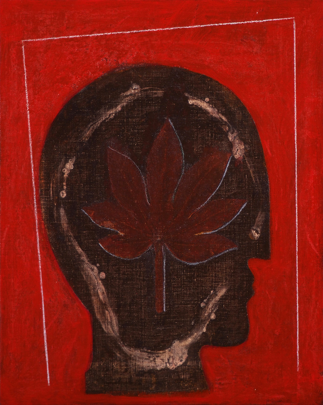 Mimmo PALADINO - Pittura - Etrusco V