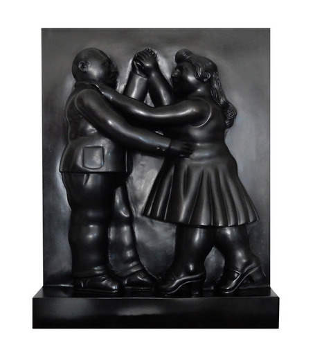 Fernando BOTERO - Sculpture-Volume - Dancers